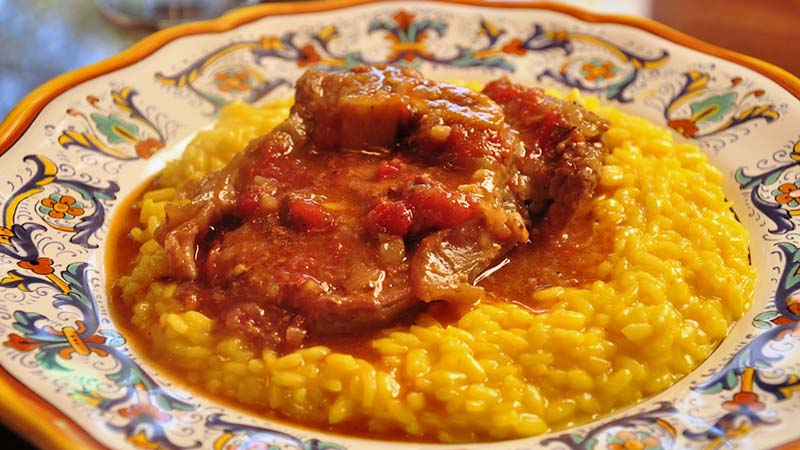 Our Famous Osso Buco! Served in the Traditional Style.